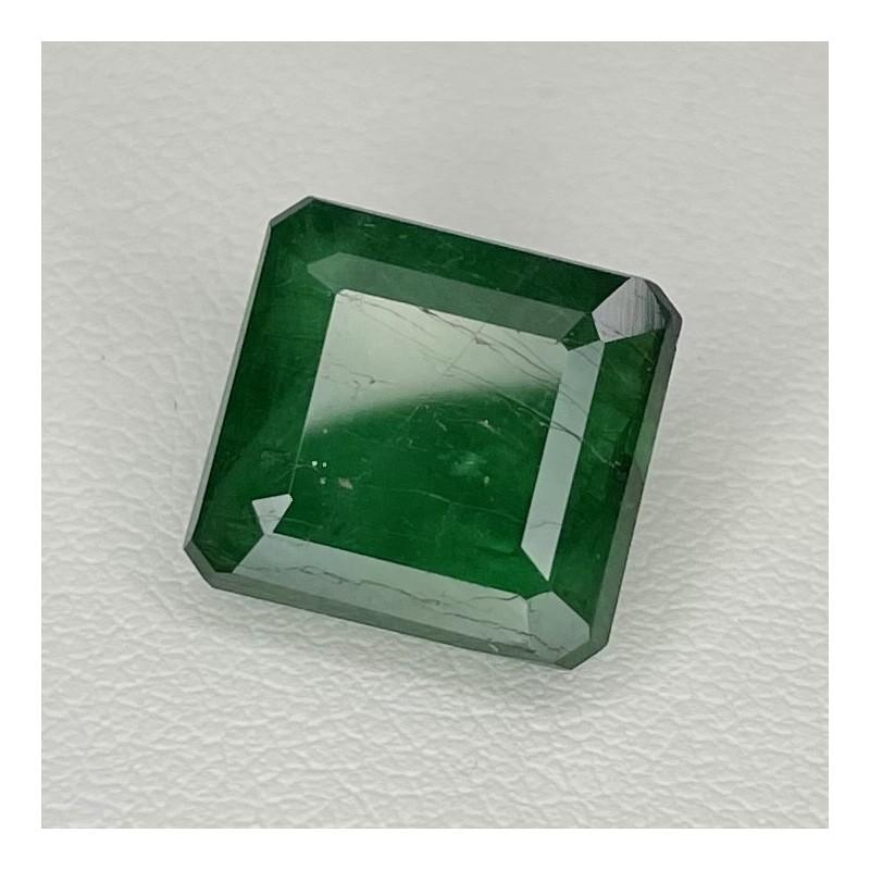 7.54 Ct. Emerald 10.5x11.5mm Octagon Shape Single Gem Piece