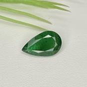 3.52 Ct. Emerald 14x8.5mm Pear Shape Single Gem Piece