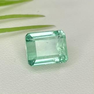 5.50 Cts. Emerald 10x8mm Step Cut Octagon Shape Single Gem Piece (1 Pc.)