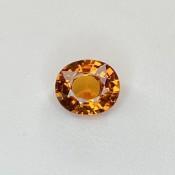2.77 Cts. Spessartite Garnet 7.65x9.09mm Old Cut Oval Shape Single Gem Piece (1 Pc.)