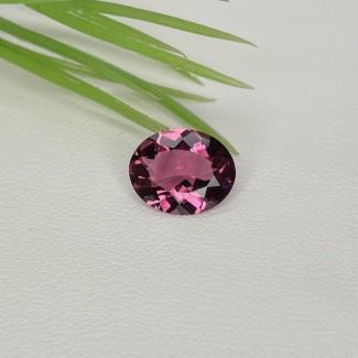 2.70 Ct. Pink Tourmaline 11x9mm Oval  Shape Single Gem Piece