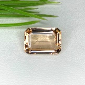 6.85 Cts. Morganite 14x10mm Step Cut Octagon Shape Loose Gemstone - SKU:153562