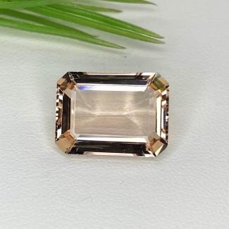 9.40 Cts. Morganite 16x12mm Step Cut Octagon Shape Loose Gemstone - SKU:153565