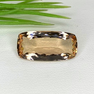 8.75 Cts. Morganite 20x10mm Regular Cut Cushion Shape Loose Gemstone - SKU:153546