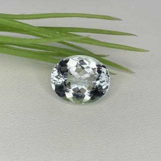 6.65 Cts. Aquamarine 14x11.5mm Regular Cut Oval Shape Loose Gemstone - SKU:157714