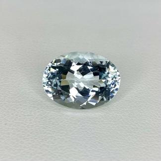 6.80 Cts. Aquamarine 14.5x11mm Regular Cut Oval Shape Loose Gemstone - SKU:157719