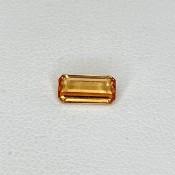 1.04 Cts. Spessartite Garnet 7.70x3.78mm Regular Cut Octagon Shape Loose Gemstone - SKU:157664