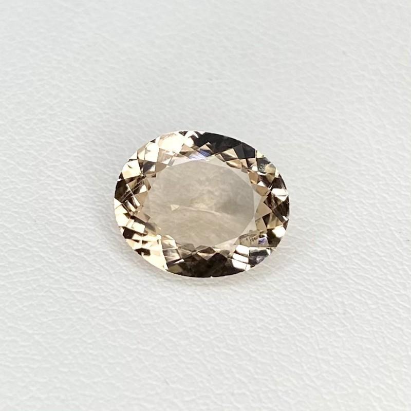 2.65 Cts. Morganite 11x9mm Regular Cut Oval Shape Loose Gemstone - SKU:157797