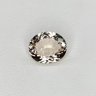 2.90 Cts. Morganite 11x9mm Regular Cut Oval Shape Loose Gemstone - SKU:157796