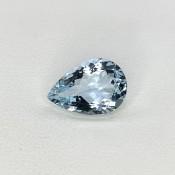 4.22 Cts. Aquamarine 14x9.5mm Regular Cut Pear Shape Loose Gemstone - SKU:157772