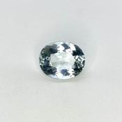 5.30 Cts. Aquamarine 13x11mm Regular Cut Oval Shape Loose Gemstone - SKU:157716