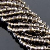 Smoky Quartz 3-3.5mm Smooth Round Shape Beads Strand