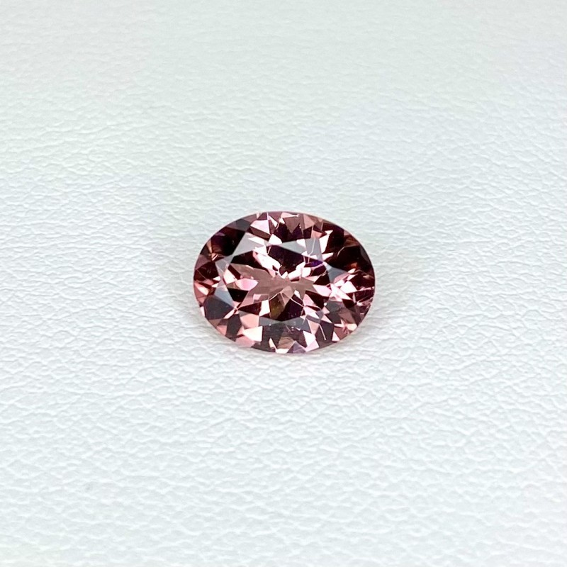 1.69 Cts. Pink Tourmaline 9x7.02mm Regular Cut Oval Shape Loose Gemstone - SKU:157932