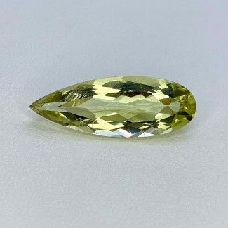 6.50 Cts. Green Beryl 24x9mm Regular Cut Pear Shape Loose Gemstone - SKU:158154