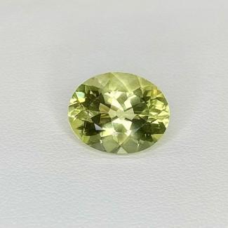 6.60 Cts. Green Beryl 14.5x11.5mm Regular Cut Oval Shape Loose Gemstone - SKU:158291