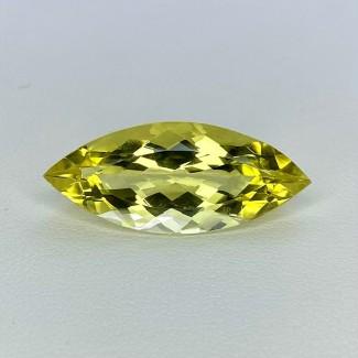 9.50 Cts. Green Beryl 25.5x10.5mm Regular Cut Marquise Shape Loose Gemstone - SKU:158159