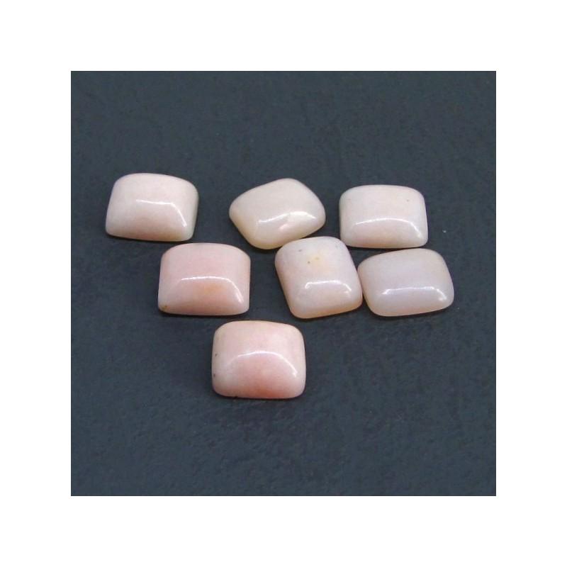78.50 Cts. Pink Opal 11x9mm Cushion Shape Cabochon Parcel (20 Pcs.)