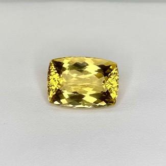 15.30 Cts. Yellow Beryl 18x13mm Regular Cut Cushion Shape Loose Gemstone - SKU:158240