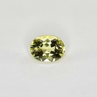 2.15 Cts. Green Beryl 10x7.5mm Regular Cut Oval Shape Loose Gemstone - SKU:158295