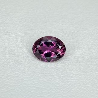 1.48 Cts. Rubellite Tourmaline 8.78x6.76mm Regular Cut Oval Shape Loose Gemstone - SKU:157896