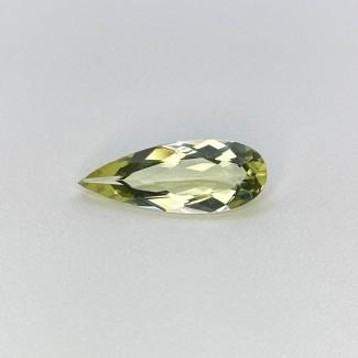 3.75 Cts. Green Beryl 20.32x7.80mm Regular Cut Pear Shape Loose Gemstone - SKU:158196