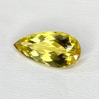 5.05 Cts. Yellow Beryl 18x8.5mm Regular Cut Pear Shape Loose Gemstone - SKU:158250