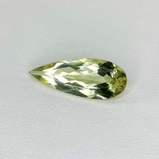 5.00 Cts. Green Beryl 22.5x8.5mm Regular Cut Pear Shape Loose Gemstone - SKU:158282