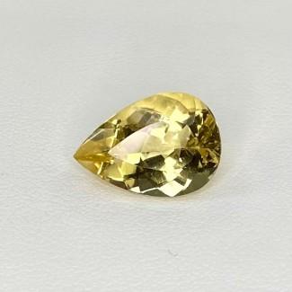 5.60 Cts. Yellow Beryl 15.5x10.5mm Regular Cut Pear Shape Loose Gemstone - SKU:158254