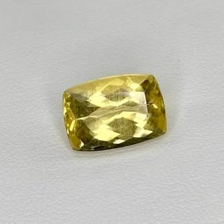 5.65 Cts. Yellow Beryl 13.5x9.5mm Regular Cut Cushion Shape Loose Gemstone - SKU:158255