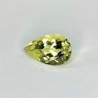 5.50 Cts. Green Beryl 17x10mm Regular Cut Pear Shape Loose Gemstone - SKU:158281