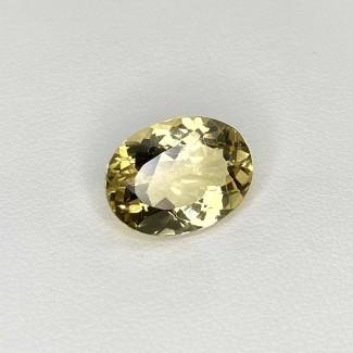 5.93 Cts. Yellow Beryl 14x10.5mm Regular Cut Oval Shape Loose Gemstone - SKU:158264