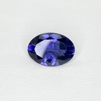 4.45 Cts. Iolite 14x10mm Regular Cut Oval Shape Loose Gemstone - SKU:158401