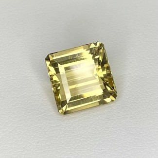 6.65 Cts. Yellow Beryl 11.5mm Step Cut Octagon Shape Loose Gemstone - SKU:158267