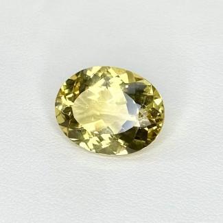 9.20 Cts. Yellow Beryl 16.5x13mm Regular Cut Oval Shape Loose Gemstone - SKU:158246