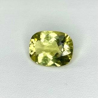 10.05 Cts. Green Beryl 17x13mm Regular Cut Cushion Shape Loose Gemstone - SKU:158192