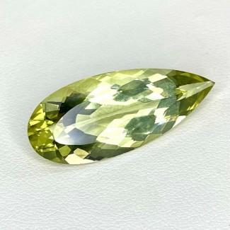 14.55 Cts. Green Beryl 29x12mm Regular Cut Pear Shape Loose Gemstone - SKU:158195