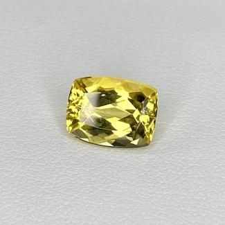 2.76 Cts. Yellow Beryl 10x8mm Regular Cut Cushion Shape Loose Gemstone - SKU:158275
