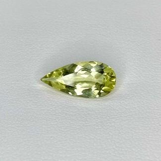 2.20 Cts. Green Beryl 14.5x7mm Regular Cut Pear Shape Loose Gemstone - SKU:158280