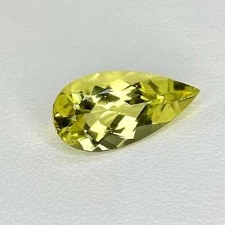 3.50 Cts. Green Beryl 15.5x8mm Regular Cut Pear Shape Loose Gemstone - SKU:158279