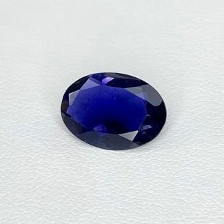 2.99 Cts. Iolite 12.79x9.08mm Regular Cut Oval Shape Loose Gemstone - SKU:158403