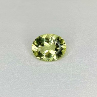 4.15 Cts. Green Beryl 13x10mm Regular Cut Oval Shape Loose Gemstone - SKU:158283