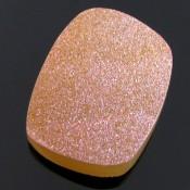 59.05 Ct. Azalea Pink Color 33x24mm Cushion Shape Drusy Quartz