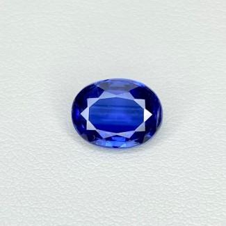 3.05 Cts. Blue kyanite 10x8mm Regular Cut Oval Shape Loose Gemstone - SKU:158538