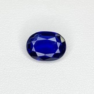 3.41 Cts. Blue kyanite 10.77x8.03mm Regular Cut Oval Shape Loose Gemstone - SKU:158462