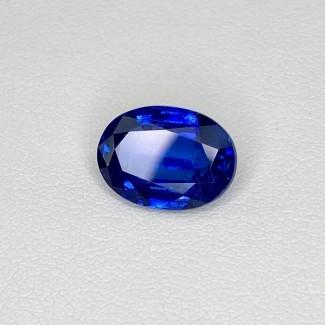 3.83 Cts. Blue kyanite 11.10x8.08mm Regular Cut Oval Shape Loose Gemstone - SKU:158463