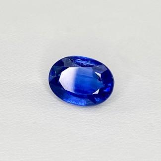4.28 Cts. Blue kyanite 10.94x8mm Regular Cut Oval Shape Loose Gemstone - SKU:158459