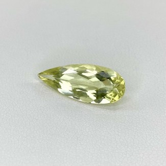 3.80 Cts. Green Beryl 19x8mm Regular Cut Pear Shape Loose Gemstone - SKU:158299