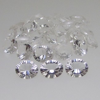 110.90 Cts. Crystal Quartz 11x9mm Oval Shape Gemstone Parcel (33 Pcs.)