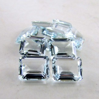 5.70 Cts. Aquamarine 12x10mm Octagon Shape Gemstone Parcel (1 Pcs.)