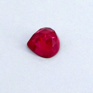 13.60 Cts. Lab Ruby 14mm Heart Shape Single Cab Piece